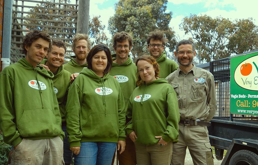 VEG team circa 2013