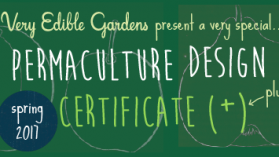VEG Permaculture Design Certificate Course - Spring 2017