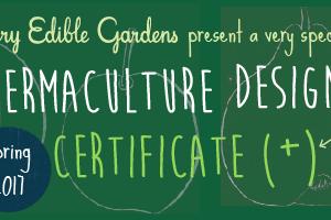 VEG Permaculture Design Certificate Course - Spring 2017