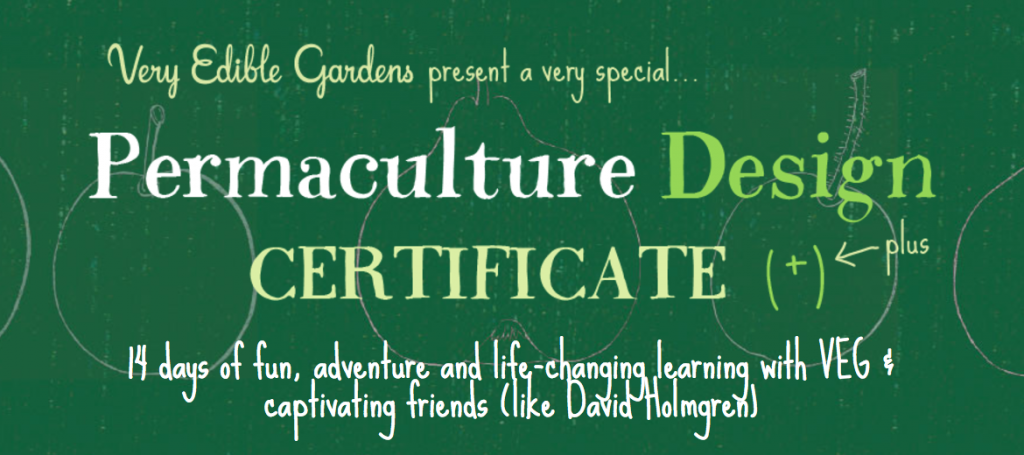 VEG Permaculture Design Certificate Course - Spring 2017 3