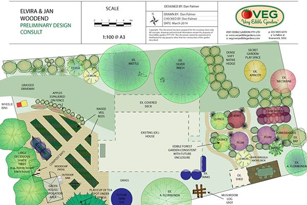 Permaculture Design Melbourne Very Edible Gardens