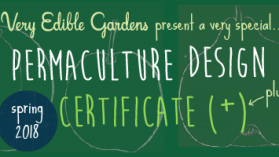 VEG Permaculture Design Certificate Course (PDC) - Spring 2018