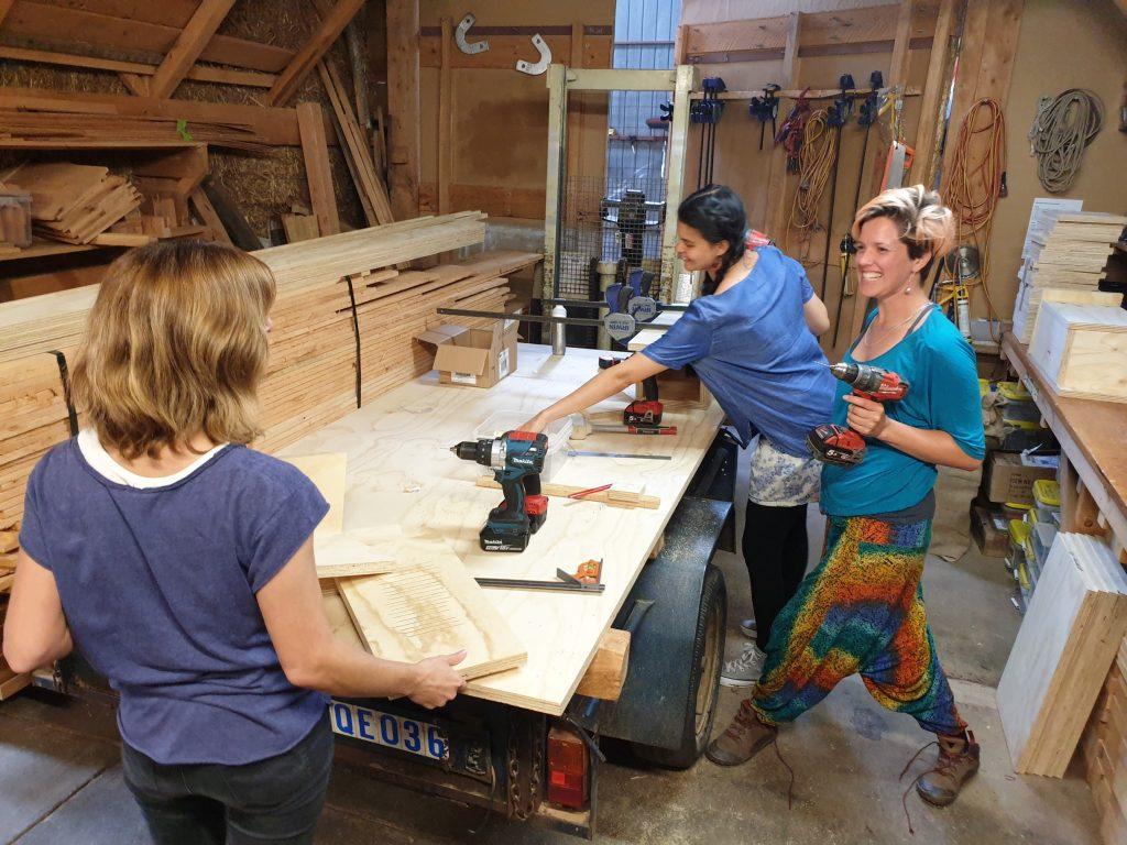 nesting box workshop